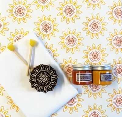 Block Print Kit- Sunny Sunflower