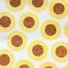 Block Printed Fabric- Large 3 Part Sunflower
