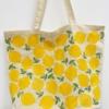Leafy Lemon Printed Maxi Bag