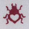 Indian Wooden Printing Block - Little Love Bug Sample 3