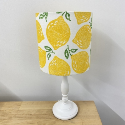 Lampshade Printing Kit- Leafy Lemon
