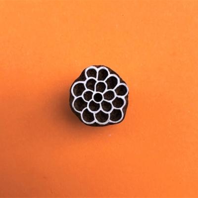 Indian Wooden Printing Block - Mini Berries 2