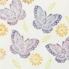 Indian Wooden Printing Block - Stylised Butterfly Sample 2