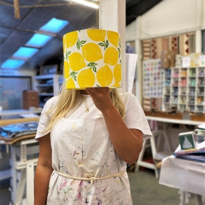 Lampshade Printing Workshop
