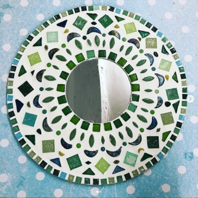 Mandala Mosaic Mirror- Evening Workshop