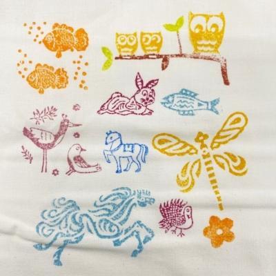 Animal Fun- Set of Workshop Printing Blocks