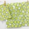 Block Printed Lime Design