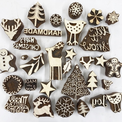 Christmas Family Block Printing Hire Kit