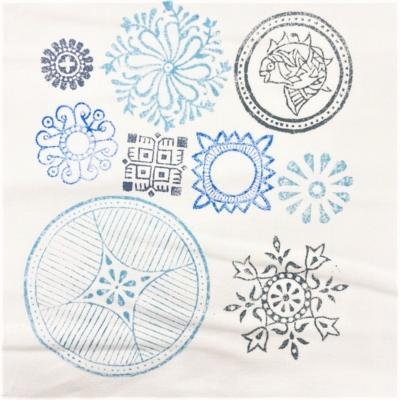Circle Patterns- Set of Workshop Printing Blocks