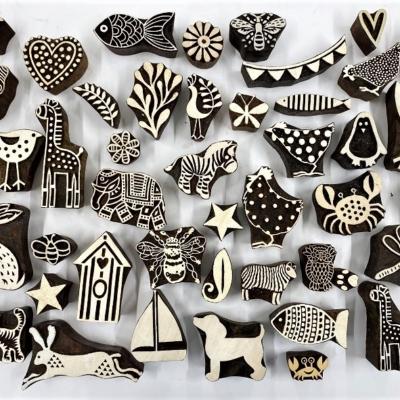 Mixed Animals- Block Printing Workshop Hire Kit