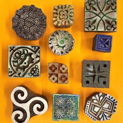 Patterns- Set of Workshop Printing Blocks