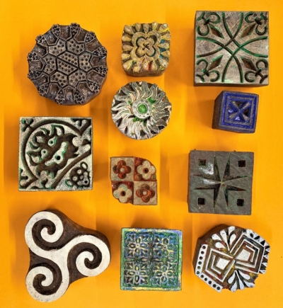 Patterns- Set of Workshop Printing Blocks