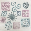 Printed Fabric Patterns- Set of Workshop Printing Blocks