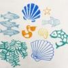 Printed Fabric- Under Water set of Workshop Printing Blocks