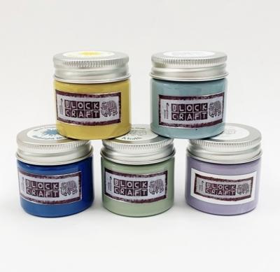 Set of Fabric Paints Bright Dusky