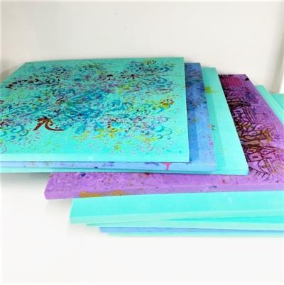 Square Foam Workshop Printing Mat