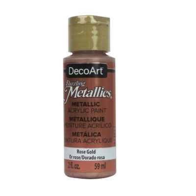 Americana Acrylic Metallic Paint - Rose Gold