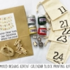 Mixed Designs Block Printing Advent Kit