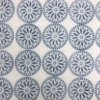 Indian Wooden Printing Block - Floral Dotty Circle Sample 2