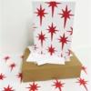 Block Printing Kit- Red Nativity Star Christmas Cards