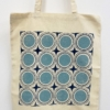 Dotty Circle Tile Tote Bag Printing Kit