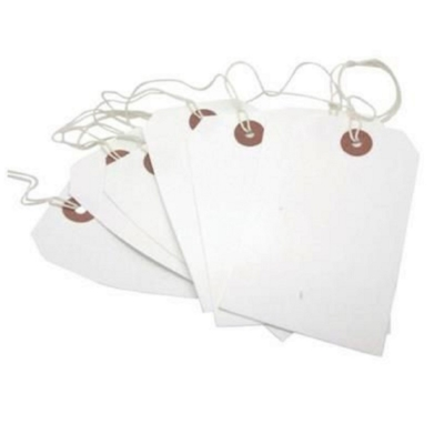 Pack of 10 White Gift Tags