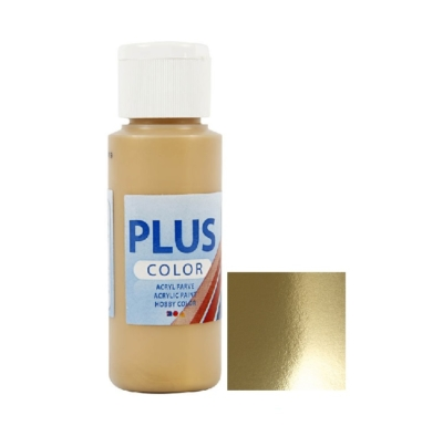 Gold Metallic Acrylic Paint 60ml
