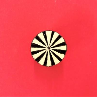 Indian Wooden Printing Blocks - Mini Stylised Circle