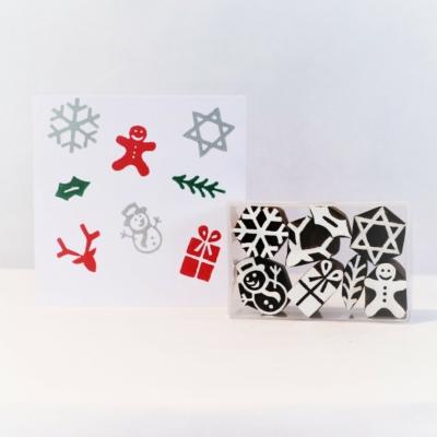Set of Mini Funky Christmas Designs