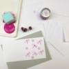 Block Printing Kit- Flowery Dragonfly Notecards