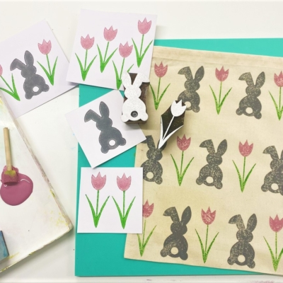 Online Printing Workshop- Easter Printing