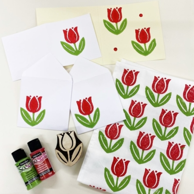 Mother's Day Printing Workshop