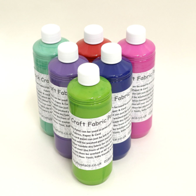 500ml Fabric Paints