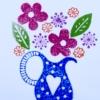 Small Floral Jug Sample
