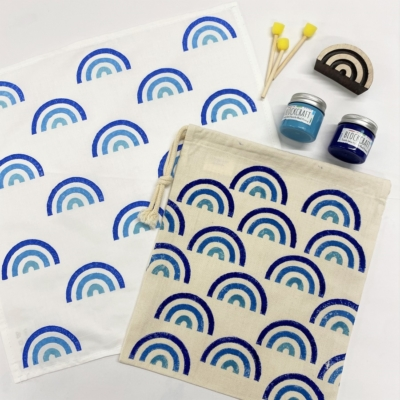 Blue Rainbow Printing Kit