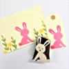 Funky Easter Bunny Card & Tag