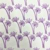 Indian Wooden Printing Block - Small Allium Fabric