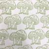 Indian Wooden Printing Block - Toadstool Fabric