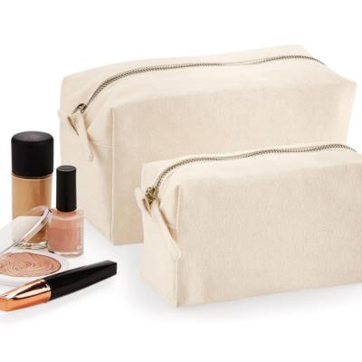 cotton canvas make up pouches