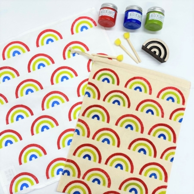Rainbow Printing Kit