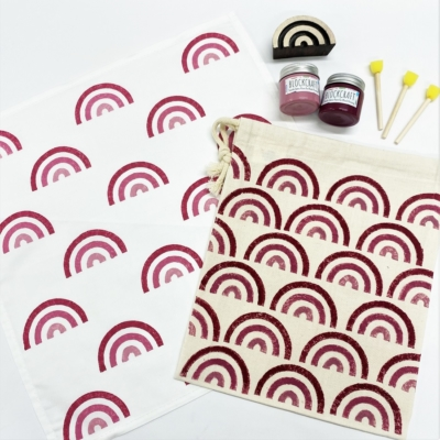 Raspberry Rainbow Printing Kit