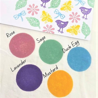 Fabric Paint Set - Spring Brights