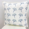Indian Wooden Printing Block - Elegant Cow Parsley Cushion