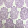 Indian Wooden Printing Block - Hamsa Hand Print