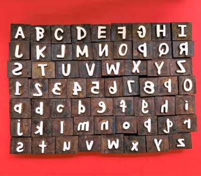 Ultimate collection of Letters and Numbers Block Printing Set