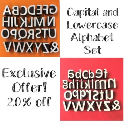 Alphabet Sets- Uppercase & Lowercase