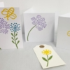Block Printed Bee and Botanical Cards
