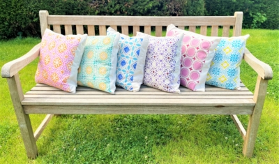 Printing Project- Garden Cushions