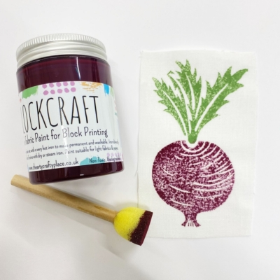 Fabric Paint 100ml Beetroot Red