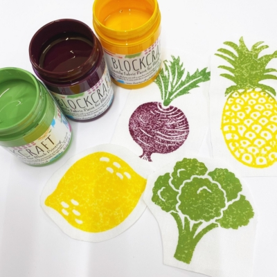 Limited Edition- Fruit & Vegetable Fabric Paints